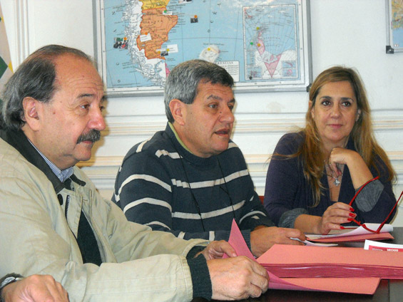 Víctor Mendibil, Víctor De Gennaro y Liliana Parada
