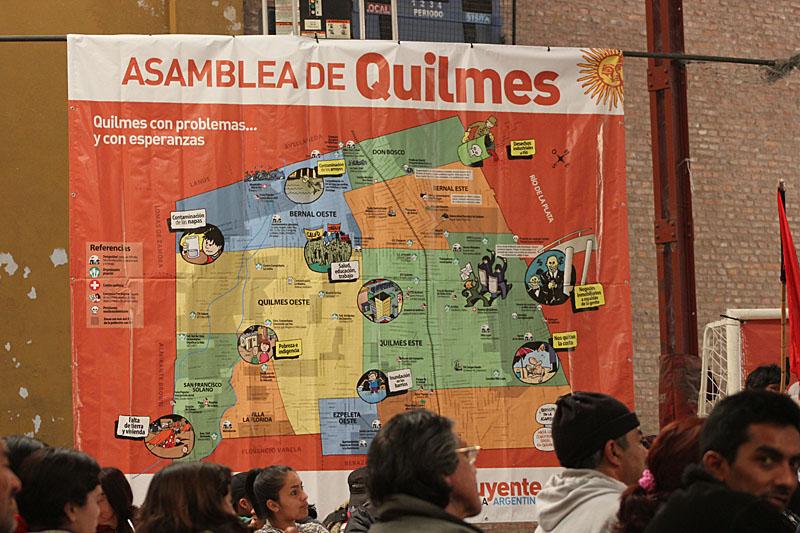 El mapa de los problemas y las esperanzas de Quilmes