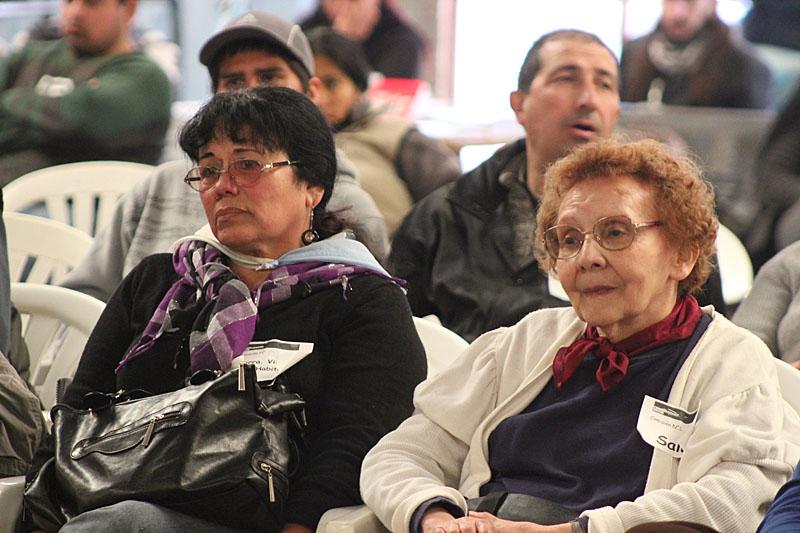 Susi Paz del MTR Santucho, y Blanca Santucho