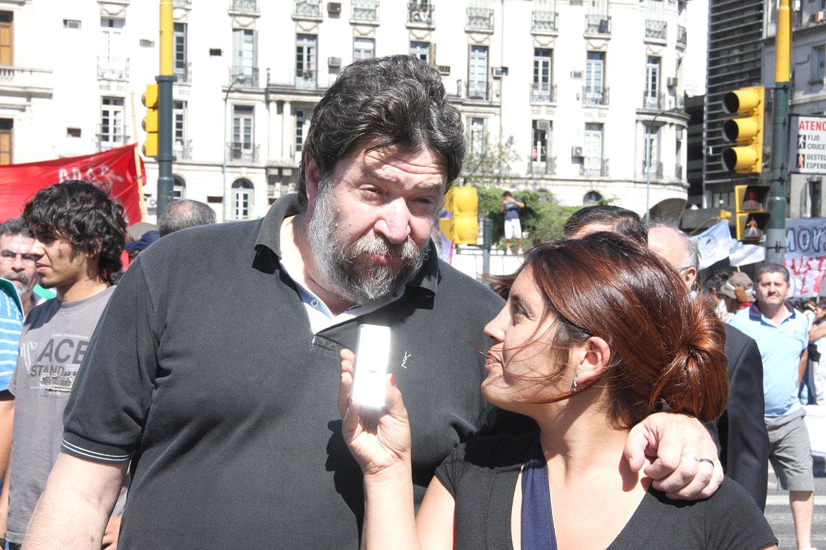 El diputado nacional Claudio Lozano