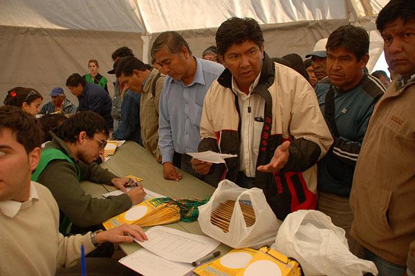 Acreditaciones - Foto: Jesús Fuentes