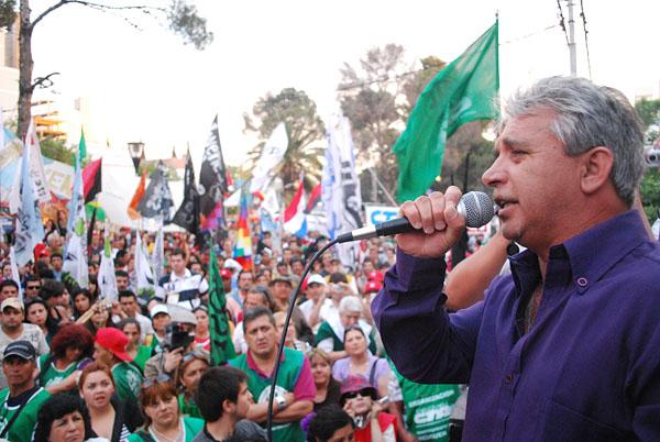 Ernesto Contreras, secretario general de ATE Neuquén