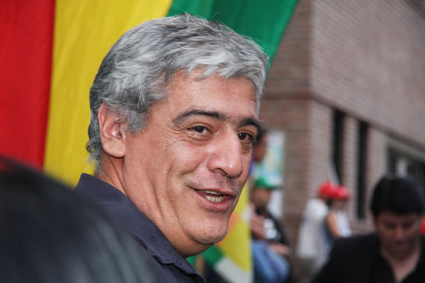 Julio Fuentes, sec. adjunto de ATE Nacional