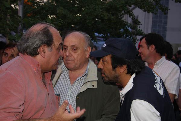Pipón Giuliani, Carlos Custer , Carlos Chile y Fito Aguirre