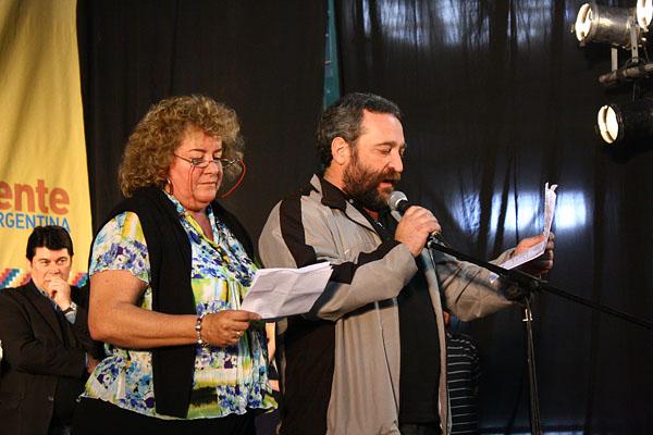 Graciela Iturraspe y Guido Dreizik