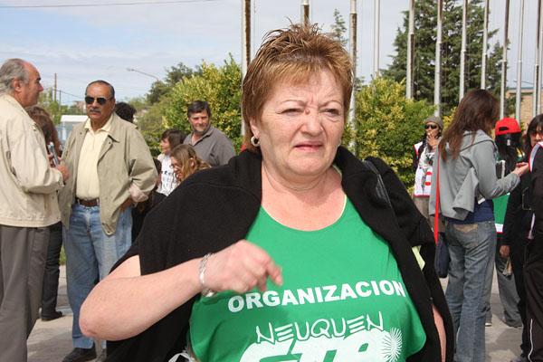 Zulma Montenegro, sec. de finanzas de ATE Nacional