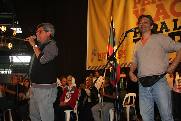 Víctor De Gennaro y Eduardo Balán