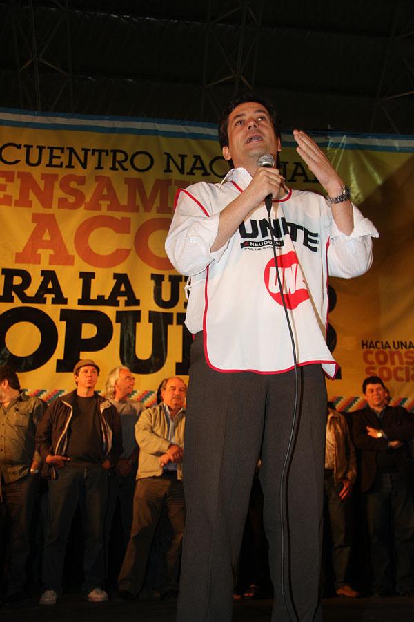 Mariano Mansilla, secretario de Gobierno de la ciudad de Neuquén