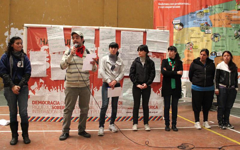 Relatores de la comisión de juventud