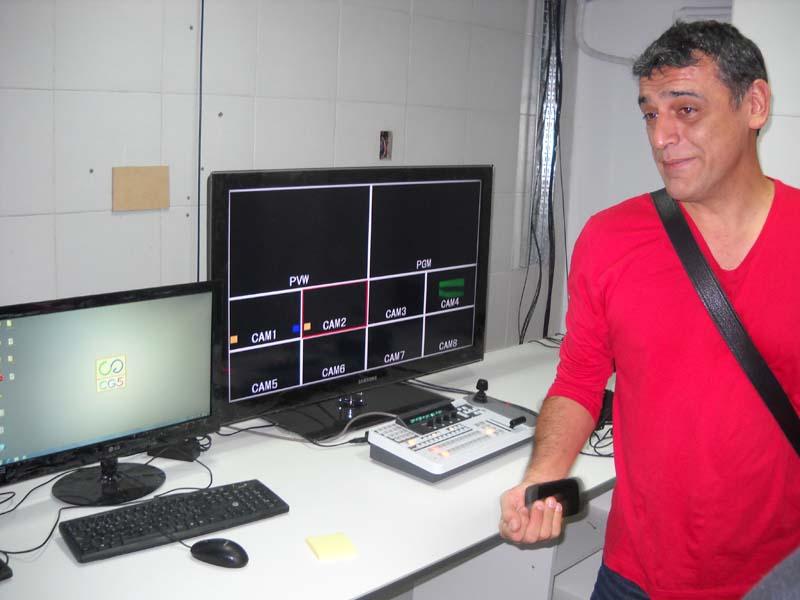 Darío Fuentes, director de TVC